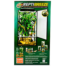 Zoo Med™ ReptiBreeze Open Air Reptile Screen Cage