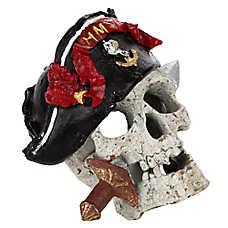 Top Fin® Pirate Skull Aquarium Ornament