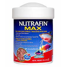 Nutrafin® Max Flakes Plus Freeze Dried Brine Shrimp Fish Food