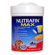 Nutrafin® Max Flakes Plus Freeze Dried Mysis Shrimp Fish Food