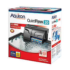 Aqueon® QuietFlow Aquarium Power Filter 20