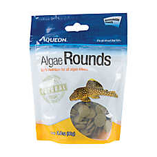 Aqueon® Algae Rounds Fish Food