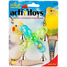 JW Pet® Insight Activitoys Quad-Pod Bird Toy