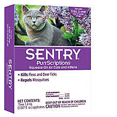 PurrScriptions® Squeeze-On Flea & Tick Cat Treatment