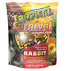 Brown's Tropical Carnival Gourmet Rabbit Food