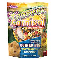 Brown's Tropical Carnival Gourmet Guinea Pig Food