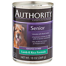Authority® Ground Entree Senior Dog Food