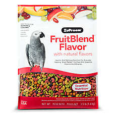 ZuPreem® FruitBlend Medium Bird Food