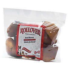 Rollover Beef Hooves Premium Dog Treats