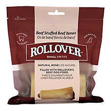 Rollover Roasted Stuffed Beef Bones Premium Dog Treats