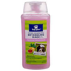 Top Paw™ Tropical Grapefruit Detangling Dog Rinse