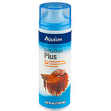 Aqueon® Betta Bowl Plus Aquarium Water Conditioner