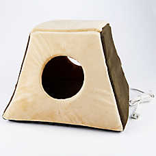 Thermo-Kitty Bed™ Cabin Heated Cat Bed