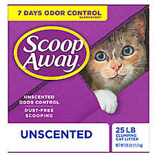 Scoop Away® Super Clump Cat Litter - Unscented, Scoopable