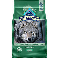 BLUE Wilderness® Adult Dog Food - Grain Free, Natural, Duck