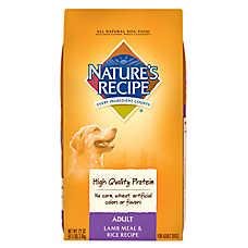 NATURE'S RECIPE® Adult Dog Food - Natural, Lamb Meal & Rice