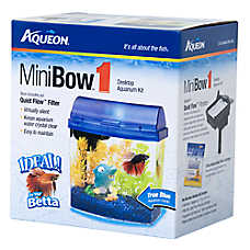 Aqueon® 1 Gallon MiniBow Desktop Aquarium Kit