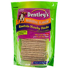 Dentley's Rawhide Munchy Sticks Dog Treats