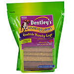Dentley's Rawhide Munchy Logs Dog Treats