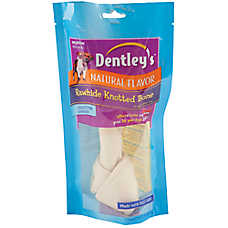 Dentley's Rawhide Knotted Bones