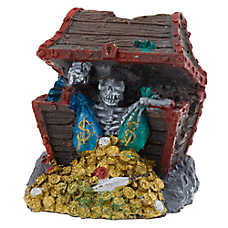Top Fin® Aquarium Sunken Treasure Chest Ornament