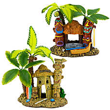 Top Fin® Aquarium Tahiti Village Ornament