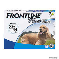 FRONTLINE® Plus 23-44 Lb Dog Flea & Tick Treatment