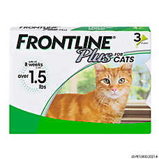 FRONTLINE® Plus Cat Flea & Tick Treatment