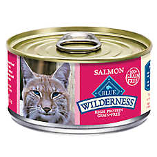 BLUE Wilderness® Adult Cat Food - Natural, Grain Free, Salmon