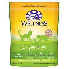 Wellness® Complete Health Kitten Food - Natural