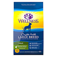 Wellness® Complete Health Large Breed Adult Dog Food - Natural