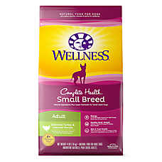 Wellness® Complete Health Small Breed Adult Dog Food - Natural