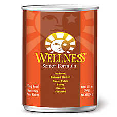 Wellness® Complete Health Senior Dog Food - Natural