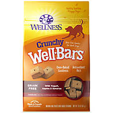 Wellness® Crunchy Well Bars Dog Treat - Natural, Grain Free