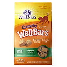 Wellness® Crunchy Well Bars Dog Treat - Natural, Grain Free