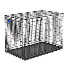 top paw double door wire dog crate