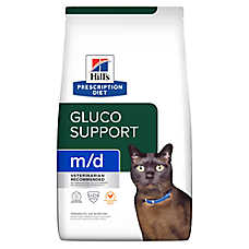 Hill's® Prescription Diet® m/d Glucose/Weight Management Cat Food - Chicken