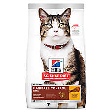 Hill's® Science Diet® Hairball Control Adult Cat Food - Chicken