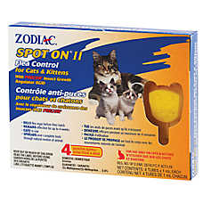 ZODIAC® SPOT ON® II Flea Control for Cats & Kittens