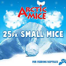 Arctic Mice Small Frozen Mice