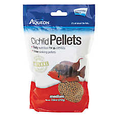 Aqueon® Cichlid Pellets Fish Food