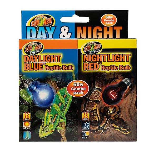Zoo Med Day Amp Night Combo Pack Reptile Bulbs Reptile Bulbs Amp Lamps Petsmart