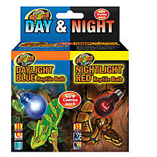 Zoo Med™ Day & Night Combo Pack Reptile Bulbs