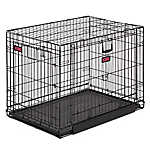 KONG® Space Saving Double-Door Pet Crate