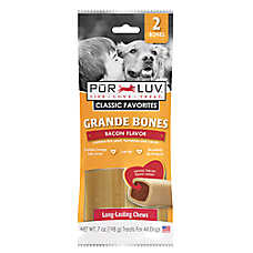 Pur Luv™ Grande Bones Dog Treat