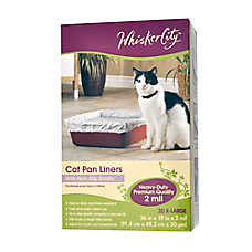 Whisker City Cat Pan Liner