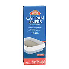 Grreat Choice® Cat Pan Liners