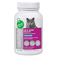 GNC Pets® Ultra Mega Hip & Joint Health Cat Sprinkle Capsules - Fish