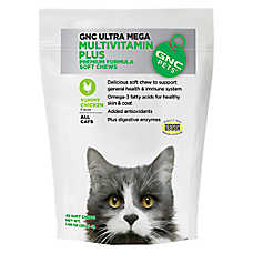 GNC Pets MultiVitamin Plus Soft Cat Chews