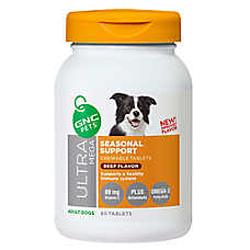 GNC Ultra Mega Seasonal Support Dog Chewable